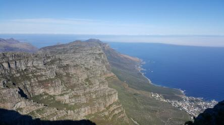 view from top of table mountain 2